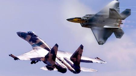 美军F-22和俄制苏-35战斗机第一次空战接触结果如何?