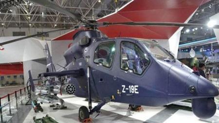 """中国武直-19E与美军""""阿帕奇""""武装直升机相比哪个更厉害?"""