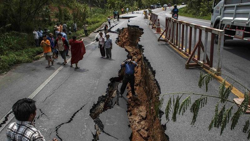 如何定位一次地震?