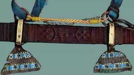 """剑刃进口自欧洲、西欧与苏丹风格复合的""""卡斯卡拉""""剑的头图"""
