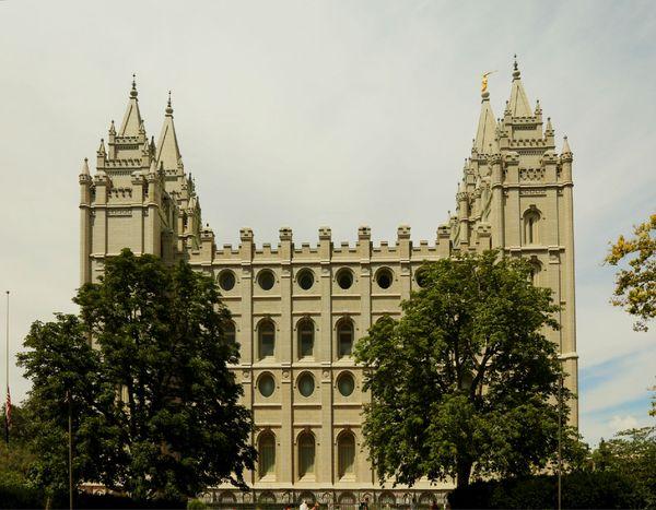 中国摩门教_基督教的分支摩门教会总部,这是目前世界上发展最快的基督教分支.图片