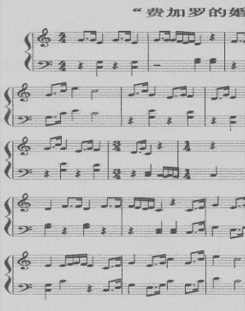 心上加罗曲谱_心上的加罗简谱