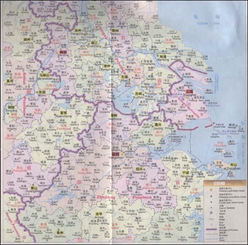 苏州旅游地图的介绍