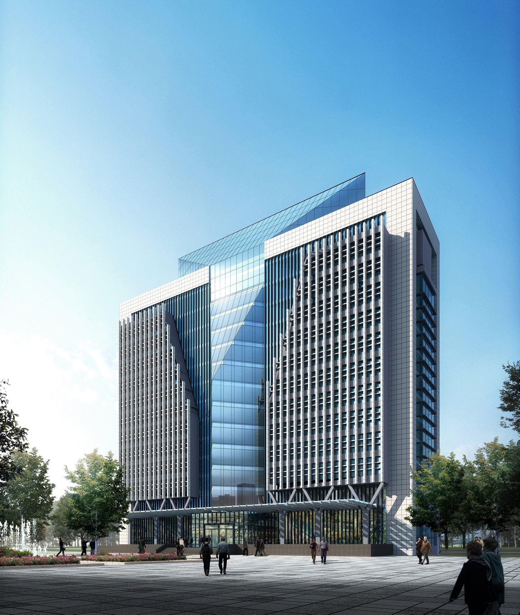 玻璃建筑效果图_ps 效果图中建筑物玻璃的高光如何制作_百度知道