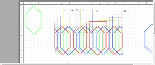 三相电动机绕组接法_一台三相48槽4极电机线圈绕组怎么连接_百度知道