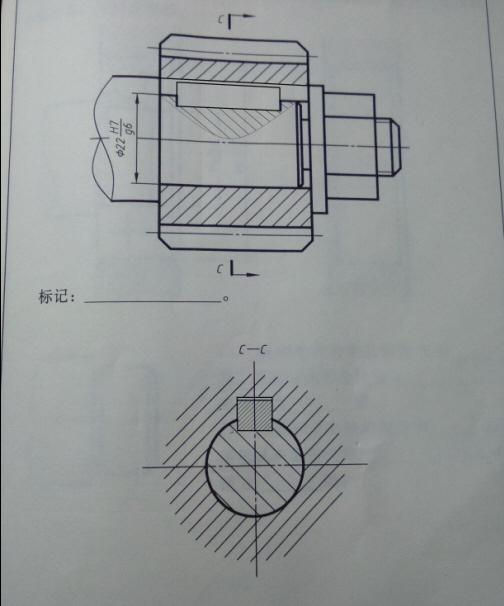 装配图螺母简化