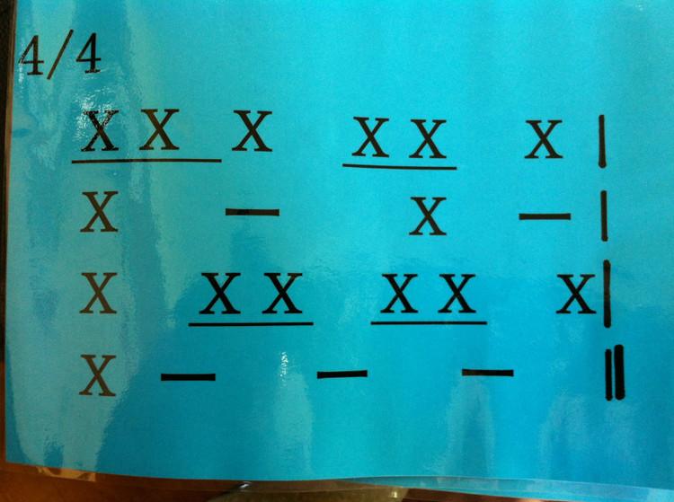 二拍子三拍子四拍子的强弱规律_四四拍的强弱规律?_百度知道