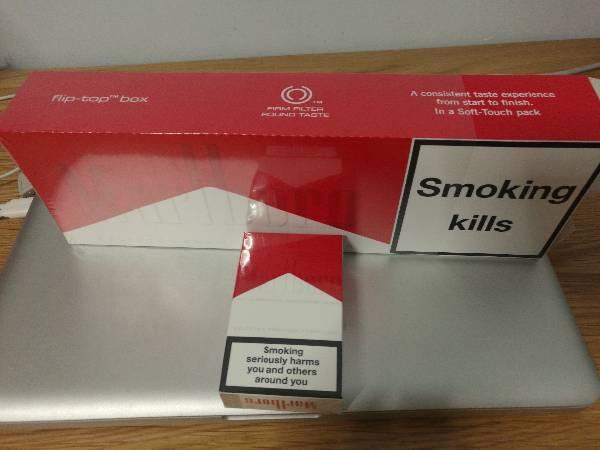 这款万宝路香烟是哪个国家版本的图片