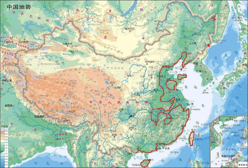 中国东北出海口_如果南极冰川瞬间融化会怎样?_百度知道