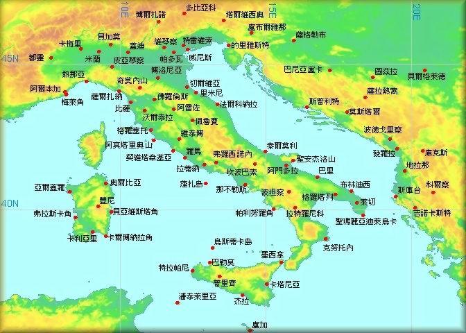 马耳他世界地图位置