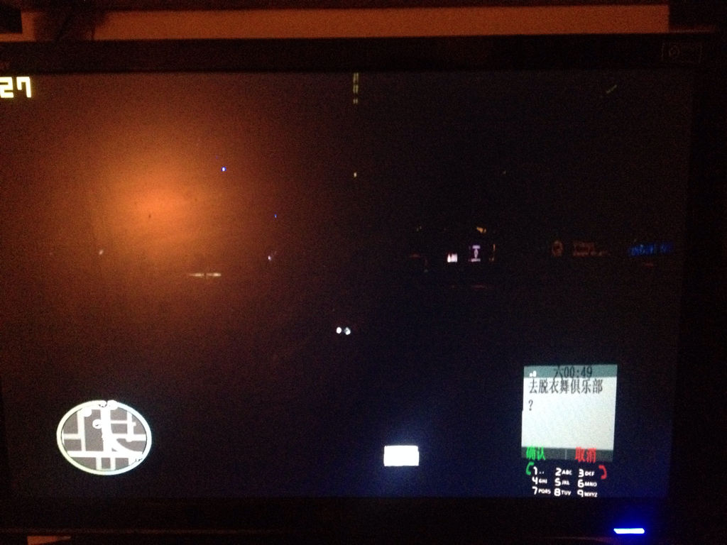 GTA4装了L3EVO-ENB N++会出现晚上什么都看不到只看得到天上的蓝