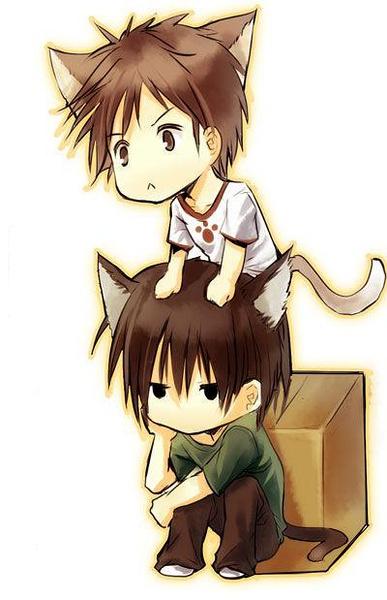 http://b.hiphotos.baidu.com/zhidao/pic/item/a8014c086e061d9513b305a87bf40ad163d9caac.jpg_求类似这样唯美的猫耳男的图片_百度知道