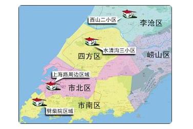 青岛黄岛地图_青岛市区划分的地图_百度知道