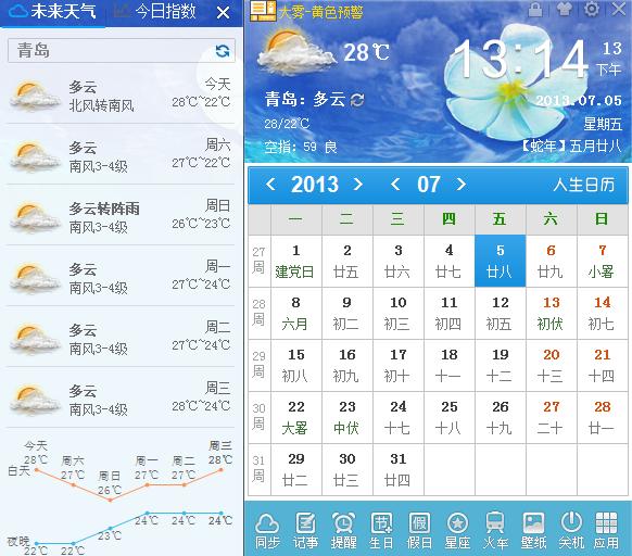 阿城一周天气预报_青岛市最近一周天气预报_百度知道