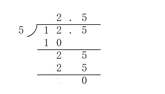 两位数除以一位小数