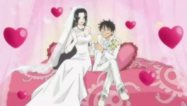 女帝和路飞_你们希望路飞和女帝结婚吗?_百度知道