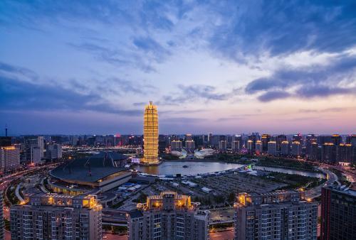 河南省万仙山郭亮村旅游景区景色图片
