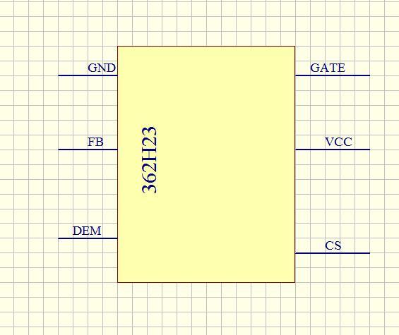 6脚电源IC(SOT-23-6)丝印362H23是什么搜索型