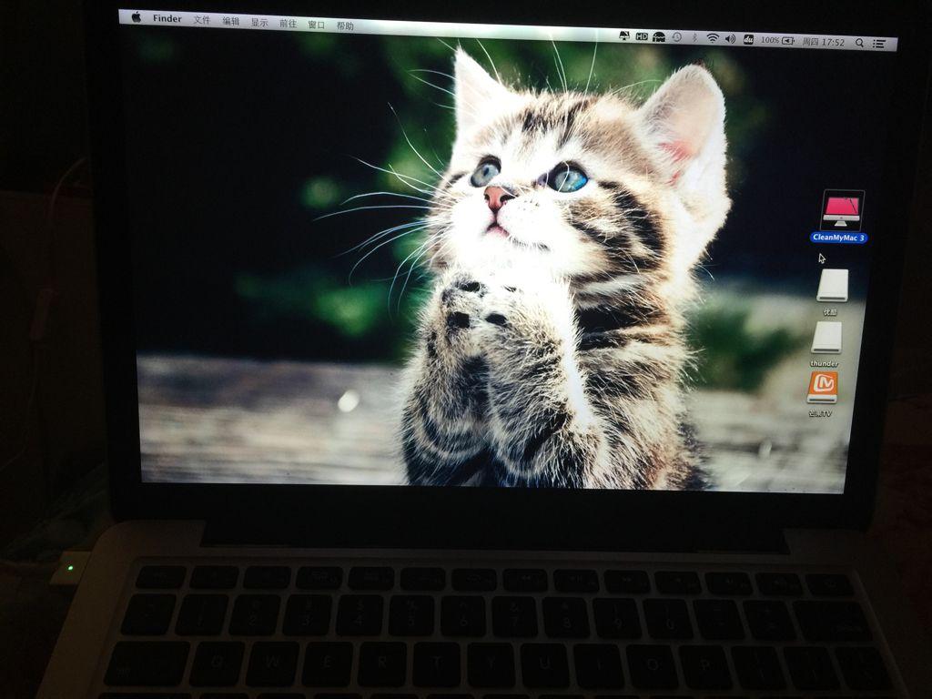 MacBook桌面不显示这些图标图片