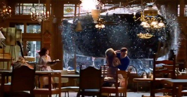 Spiderman  Car Cafe Scene