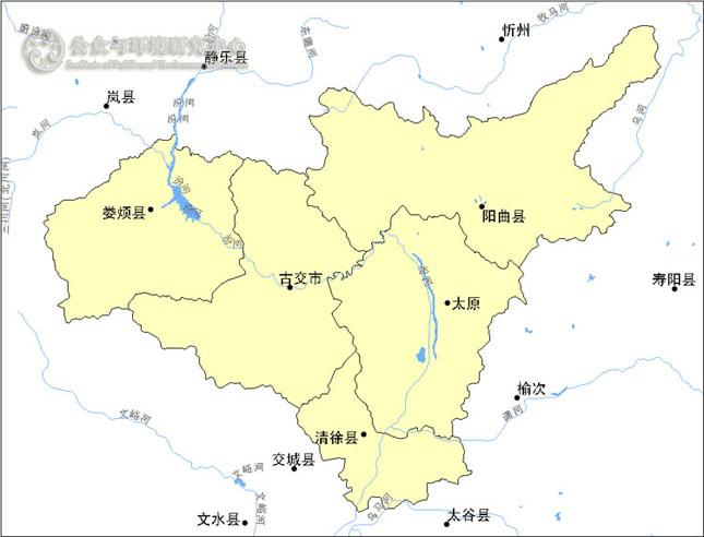 太原地图全图高清 2018