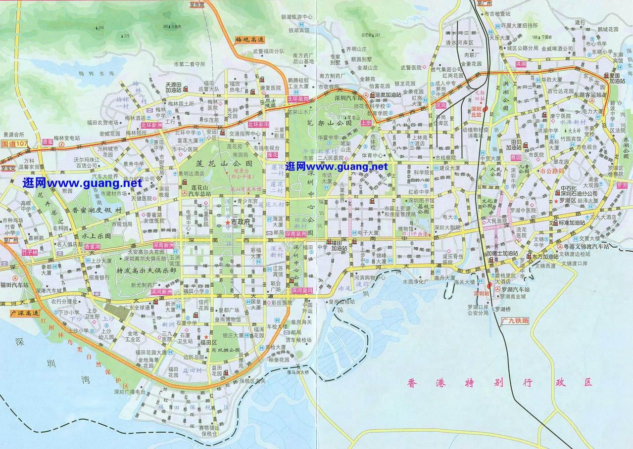 深圳市三维地图_我想要个深圳地图,不要电子版的,JPG的,_百度知道