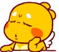 黄色片和动物干_这个带翅膀的黄色的动物叫啥啊,是个表情里的