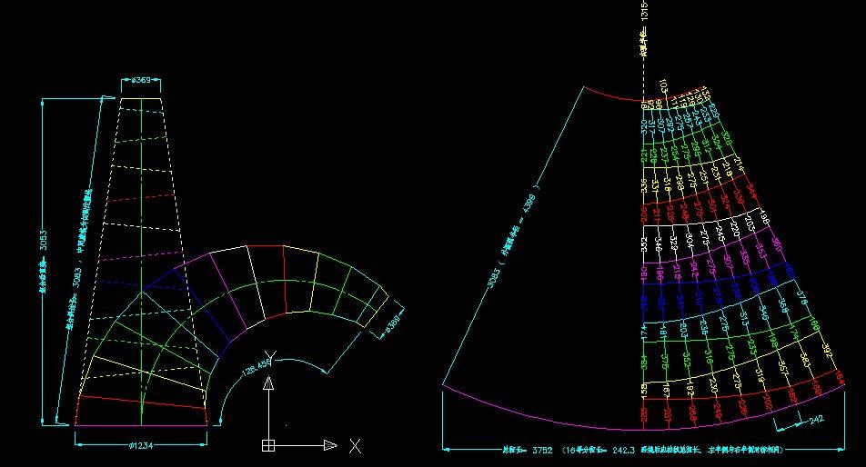 圆周长计算公式_牛角弯头怎样展开_百度知道
