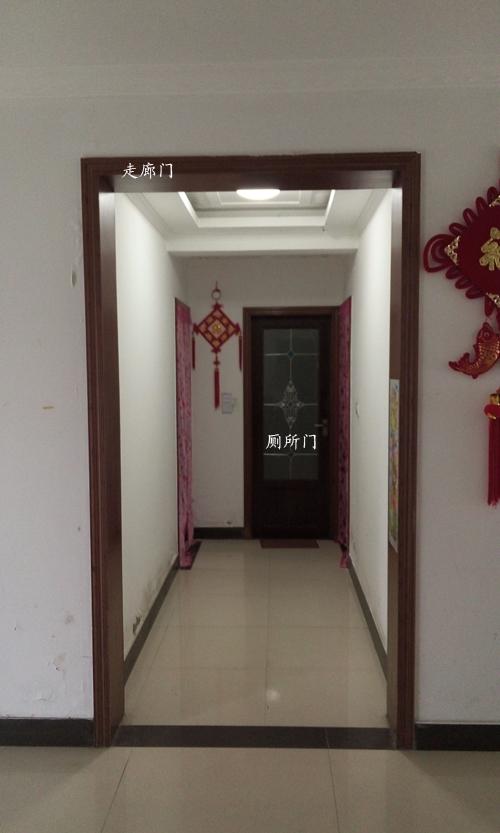 厕所门人体_大门正对厕所门如何改造下?