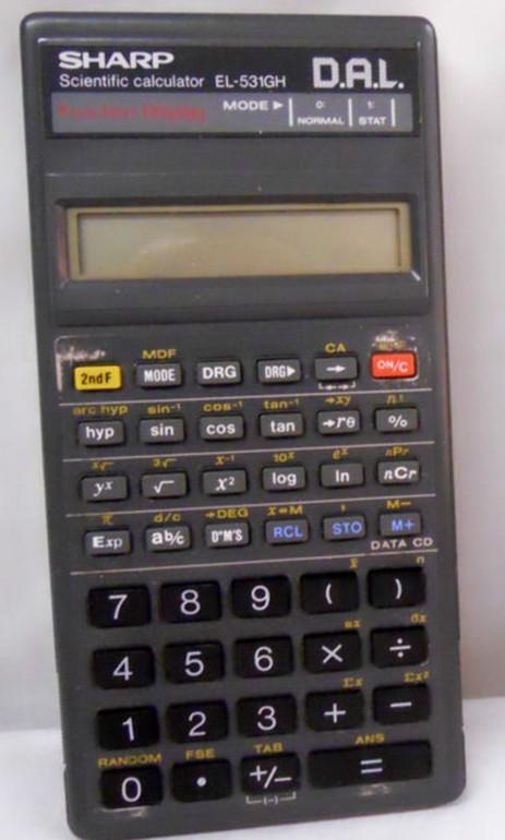 夏普计算器 el531