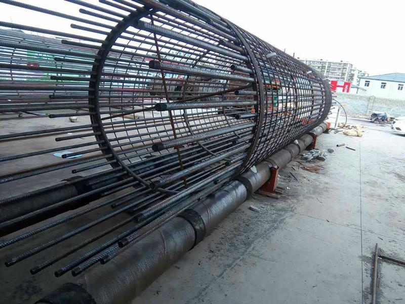 钢筋笼照片_混凝土灌注桩钢筋笼主筋如何计算_百度知道