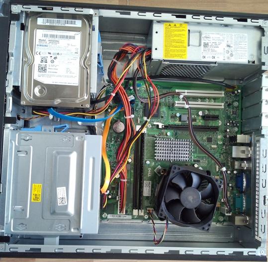 电脑主机箱内部构造_戴尔台式电脑vostro 230主机小机箱内部结构图_百度知道