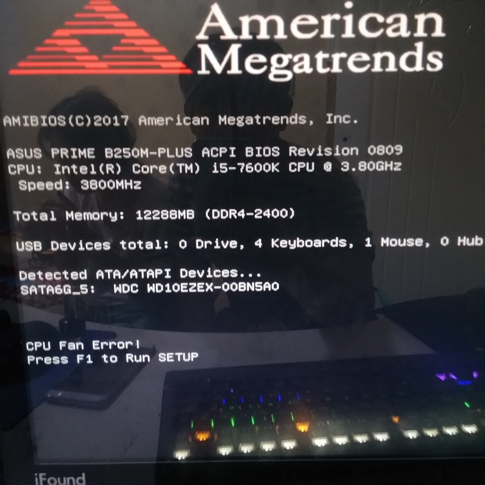 华硕主板开机必须进BIOS设置然后在退出来才可以开机进入系统_
