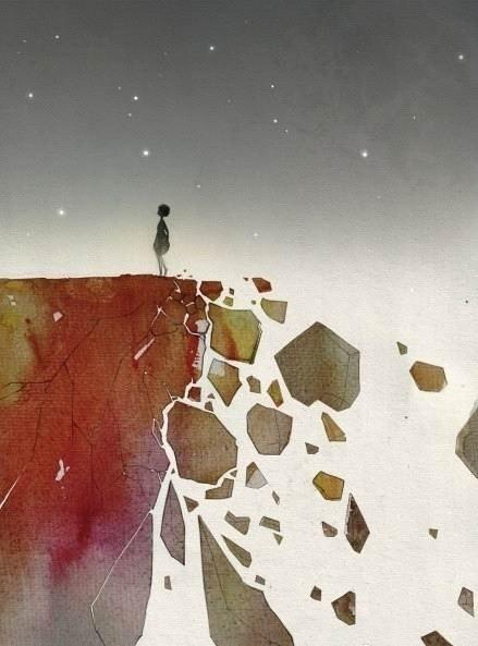 梦到身后的悬崖坍塌