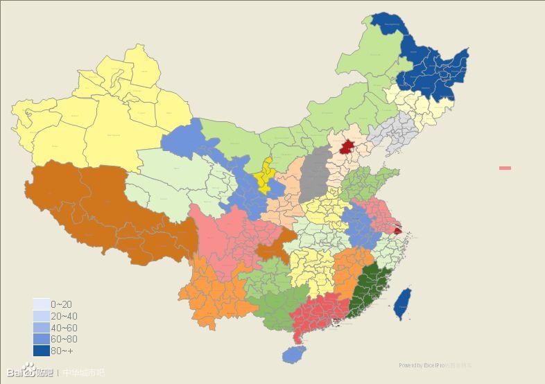 求中国地图简图