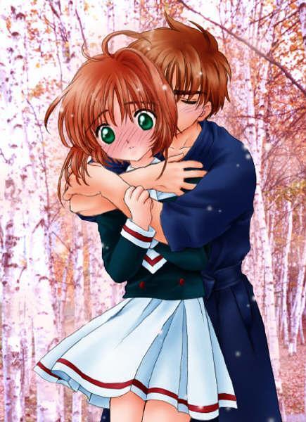 小樱和小狼接吻视频_小狼和小樱这张图没有再大一点的麽_百度知道