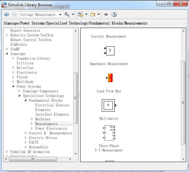 Matlab(2012b)中simulink中电流表电压表在哪个模块_百度知道