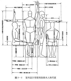 人体构造固)�_它主要以人体构造的基本尺寸(又称为人体结构尺寸,主要是指人体的静态