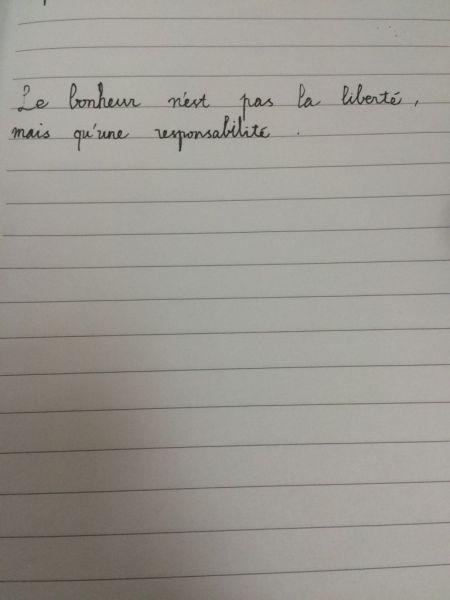 求肏�y���la_求法语书法大神手写\
