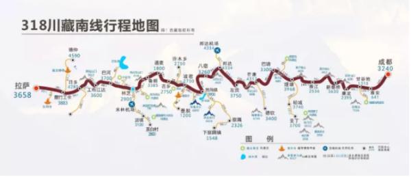 川藏线自驾游_请问谁有西藏旅游地图?_百度知道