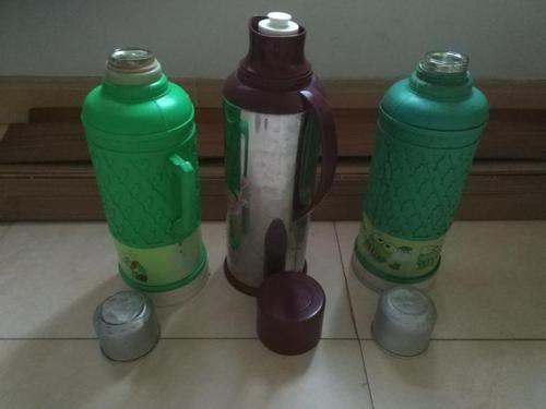 热水瓶上为什么会有三个点?