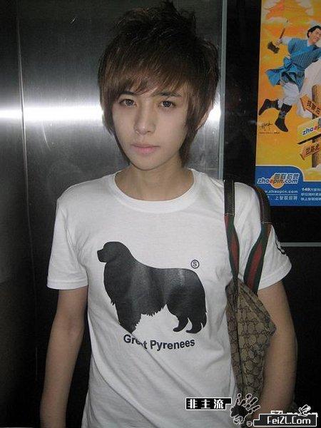 2011年新款男生发型图片
