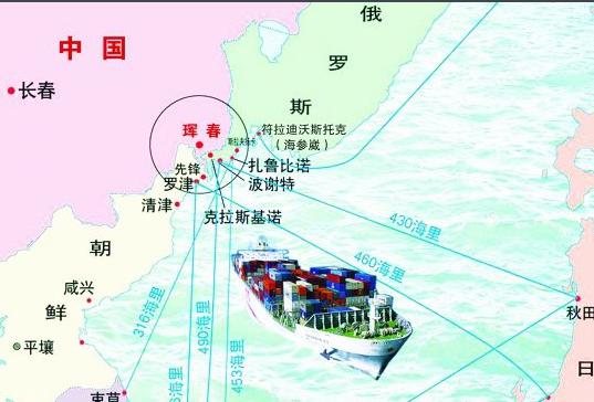 中国东北出海口_中国在日本海有出海口吗?_百度知道