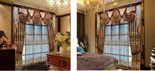怎样做好窗帘与壁布的搭配?