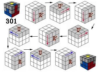 三阶魔方复原公式是什么?