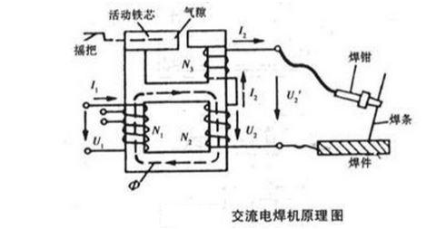 电弧打火机电路图_交流电焊机原理图_百度知道
