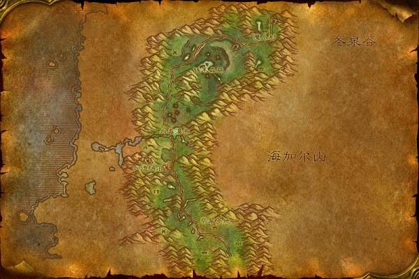 费伍德森林部落营地_问一下,魔兽世界中费伍德森林中bl的任务都在哪里接的_百度知道