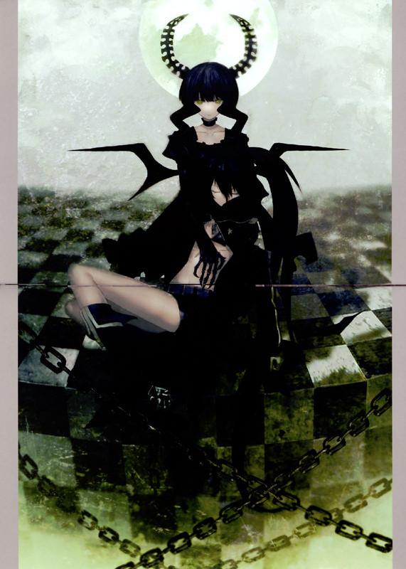 黑色死亡头像_《黑岩射手》里谁有死亡主宰(小鸟游,即黄泉)的图片?要异世界 ...