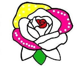 一朵花的简笔画好画吗