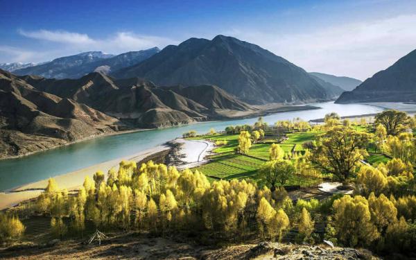 孕育中华文明的黄河_为什么说黄河、长江孕育了中华文明?_百度知道